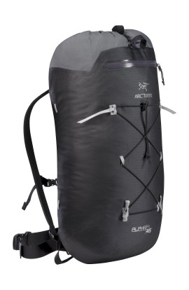 ARC'TERYX ALPHA FL 45 BACKPACK - REG - BLACK