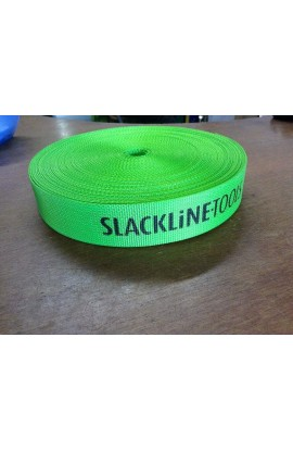 SLACKLINE TOOLS - 45MM AIR LINE - 25M - GREEN