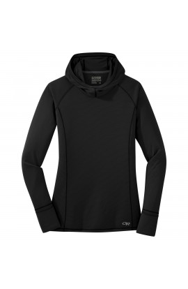 OUTDOOR RESEARCH ECHO HOODY WOMENS - BLACK
