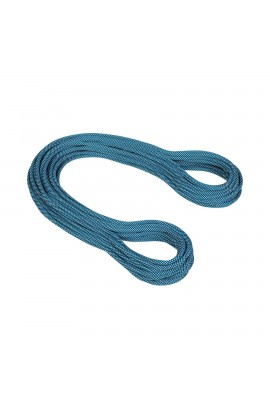 MAMMUT 9.5MM INFINITY CLASSIC - 80M - CARIBBEAN BLUE/MARINE