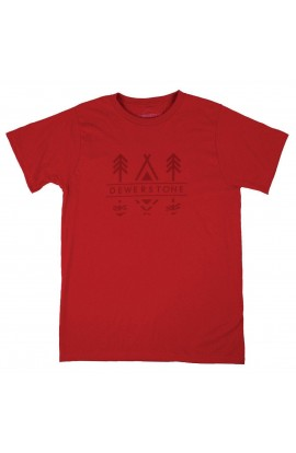 DEWERSTONE TEEPEE T - RED