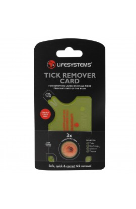 LIFESYSYTEMS TICK REMOVER CARD