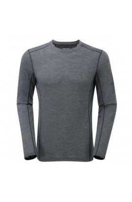 MONTANE PRIMINO 140 LONG SLEEVE T-SHIRT - BLACK