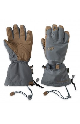 OUTDOOR RESEARCH ALTI GLOVES - CHARCOAL/NATURAL
