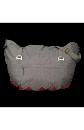 8B+ HANK ROPE BAG - GREY EFFECT