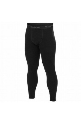 WOOLPOWER LITE LONG JOHNS MENS - BLACK
