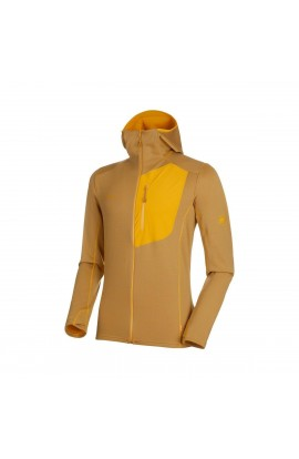 MAMMUT ACONCAGUA LIGHT HOODED JACKET MEN - GOLDEN