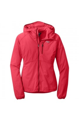 OUTDOOR RESEARCH WOMENS TANTRUM HOODED JACKET - FLAME