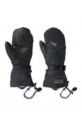 OUTDOOR RESEARCH HIGHCAMP MITTS MENS - BLACK