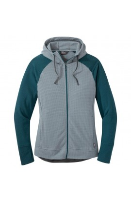 OUTDOOR RESEARCH TRAIL MIX JACKET WOMENS - LEAD/MED