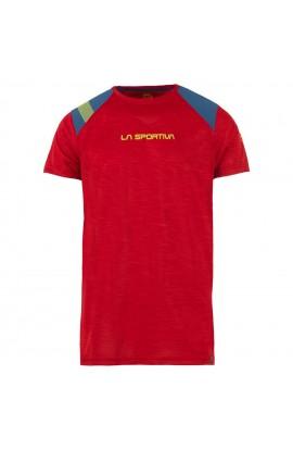 LA SPORTIVA TX TOP T-SHIRT - CHILI/OPAL