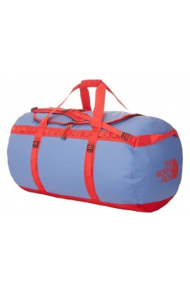 THE NORTH FACE BASE CAMP DUFFEL - L - VINTAGE BLUE/TOMATO RED