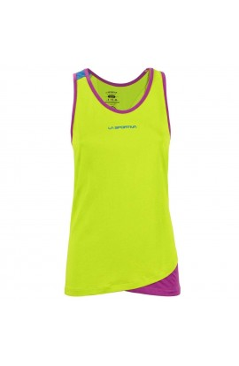 LA SPORTIVA DIHEDRAL TANK WOMENS - APPLE GREEN/PURPLE