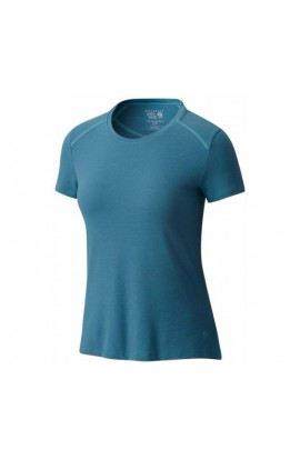 MOUNTAIN HARDWEAR COOLHIKER AC TEE WOMENS - CLOUDBURST
