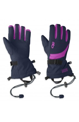 OUTDOOR RESEARCH REVOLUTION GLOVES WOMENS - NIGHT/ULTRAVIOLET