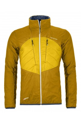 ORTOVOX SWISSWOOL DUFOUR JACKET MENS - YELLOWSTONE