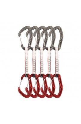 DMM ALPHA TRAD QUICKDRAW - 12CM - RED - 5 PACK