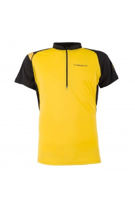 LA SPORTIVA ADVANCE T-SHIRT - YELLOW/BLACK