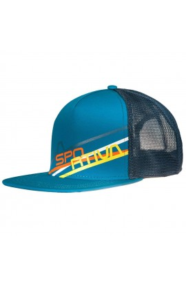 LA SPORTIVA TRUCKER HAT STRIPE 2.0 - TROPIC BLUE/OCEAN