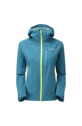 MONTANE MINIMUS STRETCH JACKET WOMENS - ZANSKAR BLUE