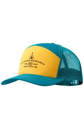 OUTDOOR RESEARCH SHADY 7 PANEL TRUCKER - PEACOCK