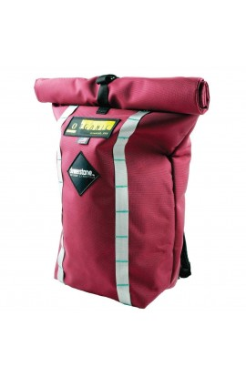 ORGANIC CLIMBING/DEWERSTONE ROLL TOP BAG - BURGUNDY