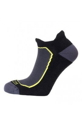 HORIZON PREMIUM TAB LOW CUT SOCK MENS - BLACK/LIME