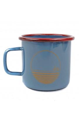 DEWERSTONE BREAKER ENAMEL MUG - BLUE/GOLD