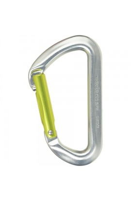 DMM AERO STRAIGHT GATE - 5 PACK - TITANIUM/GREEN