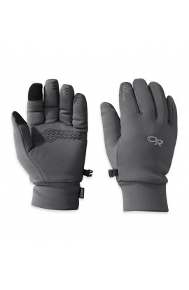 OUTDOOR RESEARCH PL 400 SENSOR GLOVES MENS - CHARCOAL HEATHER