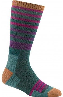 DARN TOUGH WOMENS BOOT SOCK FULL CUSHION - GREEN (1946)