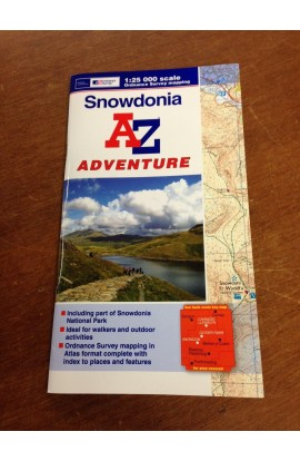 SNOWDONIA: A-Z ADVENTURE MAP - 1:25000