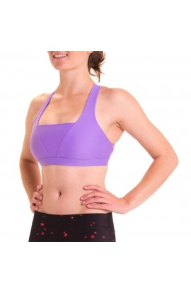 3RD ROCK AURORA BRA TOP - VIOLET