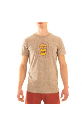 3RD ROCK UTAN TEE MENS - CLAY MELANGE