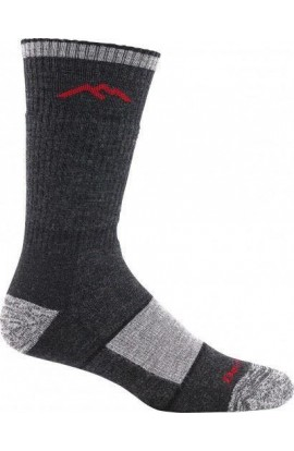 DARN TOUGH MENS BOOT SOCK FULL CUSHION - BLACK (1405)