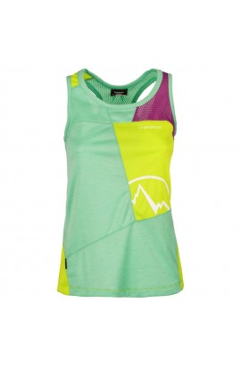 LA SPORTIVA EARN TANK WOMENS - JADE GREEN/APPLE GREEN