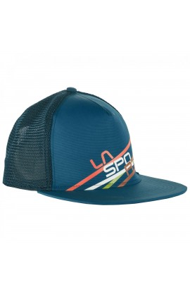 LA SPORTIVA TRUCKER HAT STRIPE 2.0 - L/XL - LAKE/OCEAN