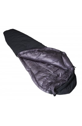 CRUX TORPEDO 500 SLEEPING BAG - BLACK
