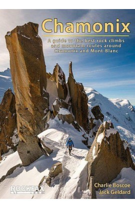 ROCKFAX CHAMONIX - BEST ROCK CLIMBS & MOUNTAIN ROUTES CHAMONIX & MONT-BLANC