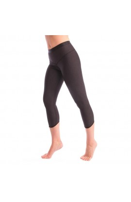3RD ROCK RISE LEGGINS - BLACK MARL