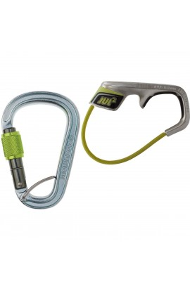 EDELRID JUL 2 BELAY KIT WITH STEEL SCREWGATE