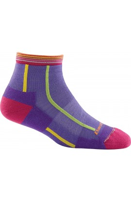 DARN TOUGH WOMENS 1/4 SOCK LIGHT CUSHION - MAJESTY (1749)