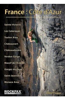 FRANCE: COTE D'AZUR ROCKFAX ROCK CLIMBING GUIDE