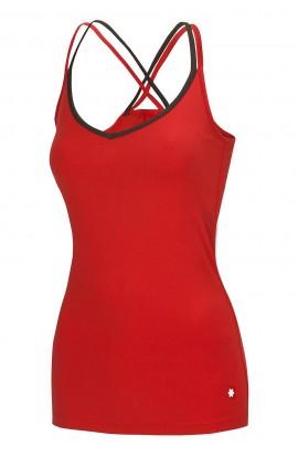 OCUN CORONA TOP WOMENS - LAVA RED