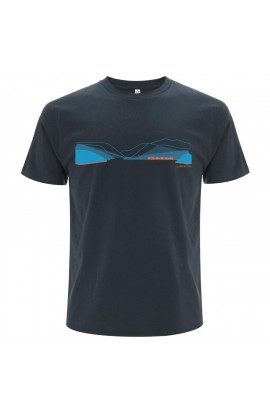 DMM PASS TEE MENS - DENIM BLUE/BLUE