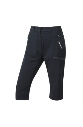 MONTANE DYNO STRETCH CAPRI PANT  - BLACK
