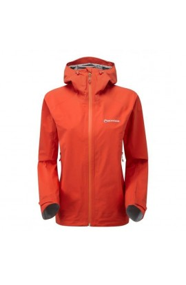 MONTANE SURGE JACKET WOMENS - MONTBRETIA ORANGE