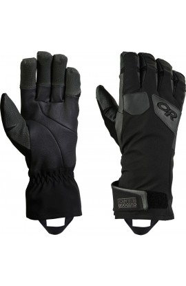 OUTDOOR RESEARCH EXTRAVERT GLOVES MENS - BLACK/CHARCOAL