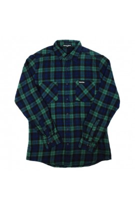 DEWERSTONE WOODMAN SHIRT - BLUE/GREEN