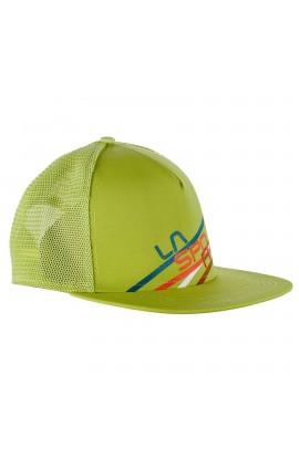 LA SPORITVA TRUCKER HAT STRIPE 2.0 - S/M - SULPHUR/CITRONELLE